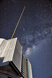 The current Laser Guide Star at the Very Large Telescope