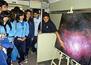The Science Train visits the Antofagasta Region