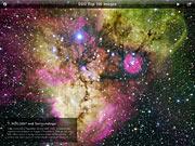 The ESO Top 100 Images iPad App Screenshot