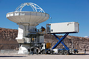 """Cryogenic """"Catering Truck"""" Comes to the ALMA Observatory"""