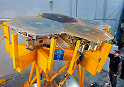 Assembled E-ELT mirror segments undergoing testing