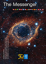Capa da revista The Messenger nº 147
