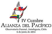 IV Cumbre de la Alianza del Pacífico (logo)
