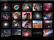 Ecrã do app ESO Top 100 Images v2.0