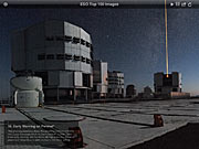 Screenshot der Version 2.0 der Top 100 Bilder-App der ESO