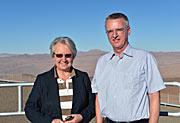 Bundes-Bildungs- und Forschungsministerin Annette Schavan zu Besuch am Paranal
