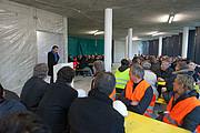 Праздником Richtfest отметили успешный ход строительства нового корпуса Главного здания ESO