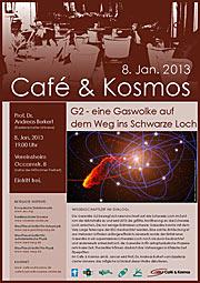 Poster zu Café & Kosmos am 8. Januar 2013