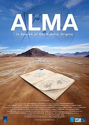 "Poster zum ALMA-Film ""In Search of Our Cosmic Origins"""