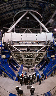 Minister Heubisch am Very Large Telescope