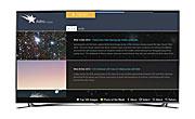 Screenshot of Astroimages Application for Smart TVs