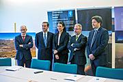 Vertragsunterzeichnung für die Solarfarm auf La Silla