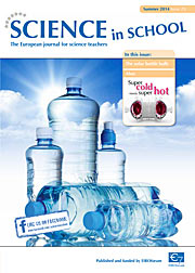 Cover of Science in School 29 — Summer 2014