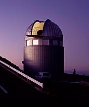 Dome of Swiss 1.2-m Leonhard Euler Telescope