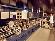 Delay line carriage in the VLTI tunnel