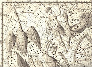 The southern constellation Indus