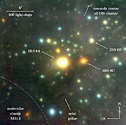 Starburst Region NGC 3603 IRS 9