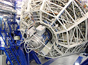 SINFONI undergoing Balancing and Flexure Tests at VLT Yepun