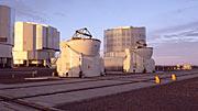 Los nuevos telescopios auxiliares móviles