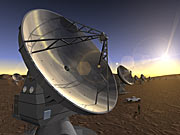 Artist's Impression of the ALMA Project