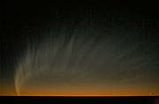 Comet McNaught over the Pacific