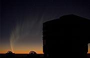 El Cometa y los telescopios