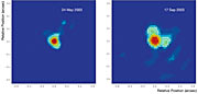 VLTI observó una estrella fumadora