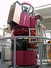 El telescopio REM y la cámara TORTORA