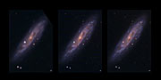 NGC 2770 and its 2 supernovae (without text)
