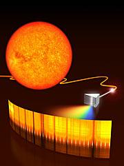Un peine láser para la astronomía