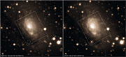 Circinus Galaxy before and after SN 1996cr appeared