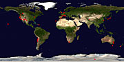 Around the World in 80 Telescopes