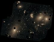 Messier 87 in the Virgo Cluster