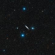 Digitized Sky Survey Image of the galaxy NGC 4945