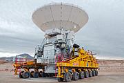 El primer viaje de una antena ALMA al Llano de Chajnantor