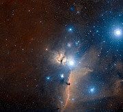 The region of Orion's Belt and the Flame Nebula
