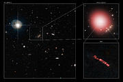 Chance discovery reveals star factories in the distant Universe