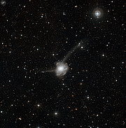 Atoms-for-Peace: a galactic collision in action*