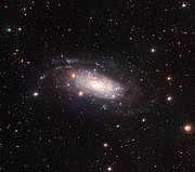 Galaxia espiral NGC 3621 vista por el Wide Field Imager