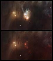 La Nebulosa McNeil's en Messier 78