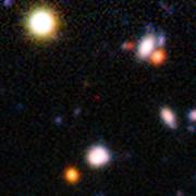Galaxia observada cuando el Universo tenía 820 millones de años de edad