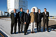 Prince Philippe of Belgium visits ESO's Paranal Observatory