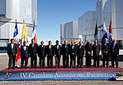 Cuarta Cumbre de la Alianza del Pacífico (foto oficial)