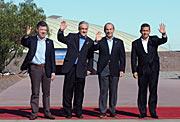 Los Presidentes de los cuatro países de la Alianza del Pacífico