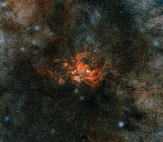 Panoramica dell'area in cui si trova NGC 6357