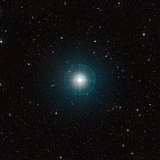 Vidvinkelbillede af værtsstjernen for den berømte exoplanet Tau Boötis b
