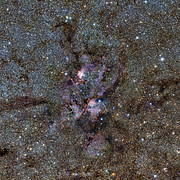 Mgławica Homar widziana przez teleskop VISTA