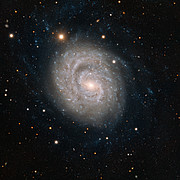 Galaxia espiral NGC 1637