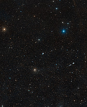 Wide-field view of the region around galaxy NGC 3783