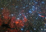 The colourful star cluster NGC 3590